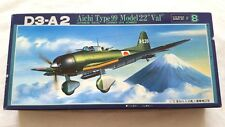 VINTAGE 1/72 SCALE MODEL PLANE AIRCRAFT FUJIMI D3-A2 AICHI TYPE 99 MODEL 22 VAL