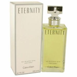 ETERNITY by Calvin Klein 6.7 oz 200 ml EDP Spray Perfume for Women New in Box