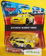 O- SIDEWALL SHINE #74 Rubber Tires Mattel Disney Pixar Cars 1:55 Diecast Vehicle