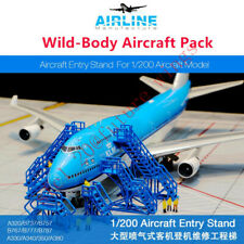 Airline Manufacture GSE: 1/200 Aircraft Entry Stand-----Wide-Body Pack (6Pcs)