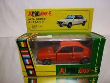 POLITOYS E36 ALFA ROMEO ALFA SUD - RED 1:43 - GOOD CONDITION IN BOX