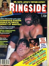 JIMMY GARVIN Ringside Wrestling Magazine May 1985 RICK MARTEL/JIMMY SNUKA