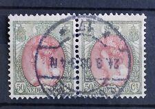 Nederland (A7341) - langebalk sGravenhage 17 op paar NVPH 74