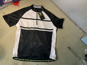 Men's Altura Airstream2/ Short Sleeve/ Cycling Jersey/ Black & White/ Size S