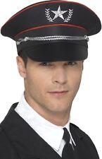 Hombre Mujer lujo Militar Fuerzas Armadas Oficial Disfraz Sombrero