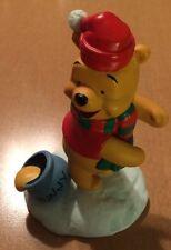 Walt Disney Winnie The Pooh Winter Figure With Hunny Pot