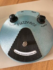 Jimi Hendrix Fuzz Face Effects Pedel Dunlop JH -F1