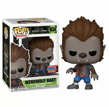 Funko POP! Vinyl Figure - The Simpsons - Werewolf Bart Brand New