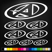Compatible AGV SPORT 8 Stickers Autocollants Adhésifs Auto Moto Voiture Sponsor