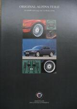 Prospekt original BMW ALPINA Teile 7er E38  06/96 mit Preisliste 03/97 (CHF)