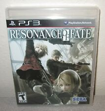 RESONANCE OF FATE Sealed NEW PlayStation 3 SEGA Japanese RPG JRPG Steampunk PS3
