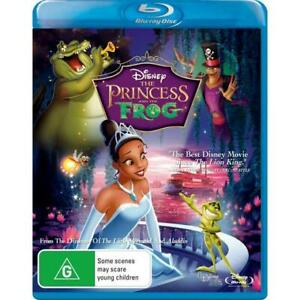 """THE PRINCESS AND THE FROG (BLU-RAY, 2010) BRAND NEW / SEALED """"REGION B"""""""