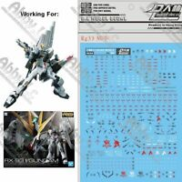 for RG 1/144 RX-93 Nu Gundam Gunpla D.L Dalin WaterSlide Decal Stickers RG33