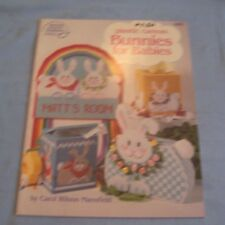 American School of Needlework Plastic Canvas Patterns BUNNIES FOR BABIES 3070