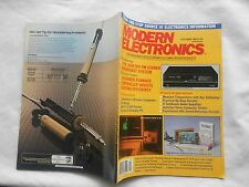 MODERN ELECTRONICS MAGAZINE-OCTOBER,1985
