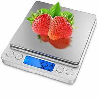 3000g/0.1g Digital Pocket Gram Scale Jewelry Weight Electronic Balance Scale KIT