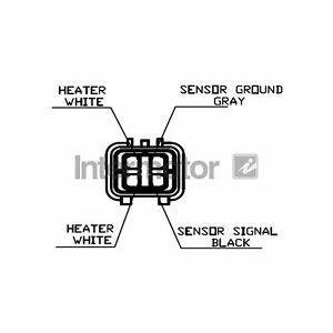 For Mitsubishi Shogun Pinin 2.0 GDI Genuine Intermotor Lambda Sensor