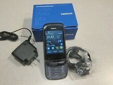 Nokia C Series C2-02 (GSM T-Moible, Metro, Simple) Slider Touchscreen Phone