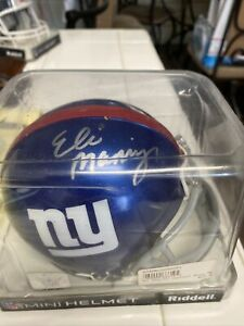 Eli Manning Mini Helmet New York Giants