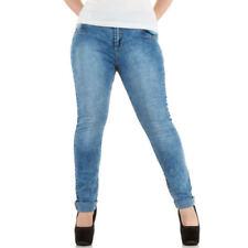Carmakoma by Only Damen Jeans CARANNA  ANK Skinny Fit große Größen D Blue
