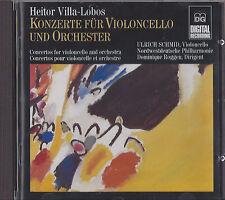 HEITOR VILLA-LOBOS Konzerte fur Violin Cello CD GERMAN IMPORT DG DIGITAL