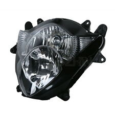 Black Front Headlight Head Lamp Clear Lens For Suzuki GSX-R1000 GSXR1000 05-06