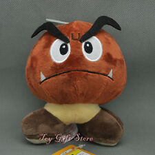 "Goomba Angry 5.5"" #1 New Super Mario Bros. Plush Doll Stuffed Toy"