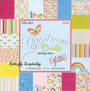Butterfly Daydream 12X12 Scrapbooking Paper Pad Paper Studio 60 Sheets New