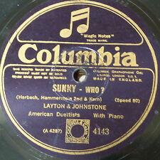 78 tr/min LAYTON & JOHNSTONE Sunny/OMS?