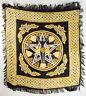 "Pentagram Goddess Altar/Tarot Cloth 18"" x 18"" Wicca Pagan"