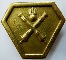 Insigne Artillerie CEF ITALIE 1943 CORPS EXPEDITIONNAIRE ORIGINAL WWII