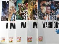 SECRET WARRIORS Sammlung 1 2 3 4 5 von 5 komplett NEUWARE