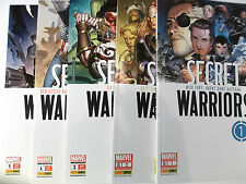 Secret Warriors raccolta 1 2 3 4 5 di 5 completa nuova