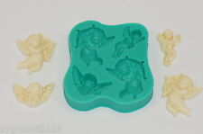 Silicone mold mould PMC sugarcraft cake decoration selection  cherubs (7007)
