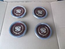 1981 82 83 84 85 Cadillac Seville  Wire Wheel Center Caps Set of 4