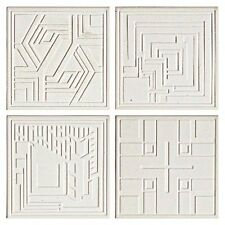 Frank Lloyd Wright Textile Block Designs Etched Coasters