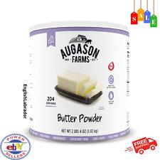 Augason Farms Butter Powder 2 lbs 4 oz No 10 Can Emergency Survival Food Storage