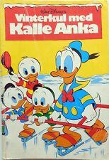 DISNEY VINTERKUL MED KALLE ANKA HEMMETS JOURNAL 1980
