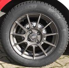 MSW 85 Alufelgen smart fortwo 453 Winterreifen Winterräder 15 Zoll grau Michelin