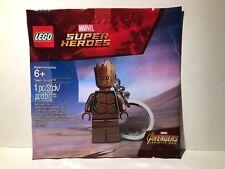 Lego Teen Groot Keychain Marvel Super Heroes 5005244 Guardians Galaxy Minifig