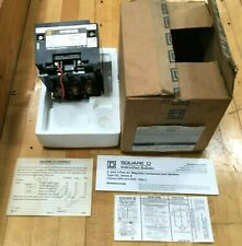 Square D 8502 SD02V02 AC Magnetic NEMA Rated Contactor /Sz 2 /120-60/110-50 C246