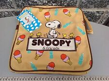 Vintage  Snoopy Luggage Peanuts Suitcase 1965 United Feature Syndicate With Tag
