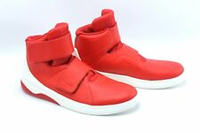 Nike Marxman University Red Hi Top Leather Basketball Sneakers Shoes Mens 10.5