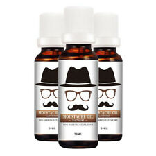 Men Beard Oil Comb Mini Bag Kit Set Moisturizing Natural Grooming Moustache Care