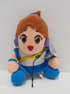 """Puyo Puyo Arle Nadja Banpresto 1994 Plush 6"""" TAG Toy Doll japan"""