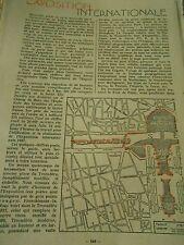 Expo internationale des Arts et des Tecnhiques dans la vie moderne Print 1937