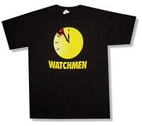 Watchmen Bloody Clock Splatter Black T Shirt New Official Movie Comic