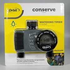 Orbit Conserve Digital Water Timer 2 Outlet - NEW Programmable