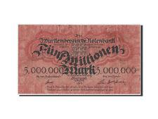 Billets, Allemagne, Notebank, 5 Millions Mark 1923, Pick UNL #42757