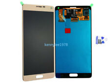 Für Samsung Galaxy Note 4 N910F/C/A/P/V/T/H/M/U LCD Display Touchscreen gold new